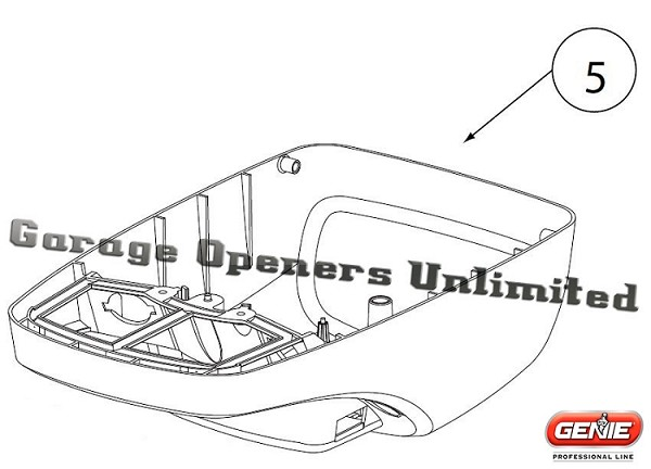 Genie 37564R.S Cover Assembly, Intelli G 1000