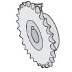 GTO GP SL050 Parts - GP4255R Sprocket for GP-SL050