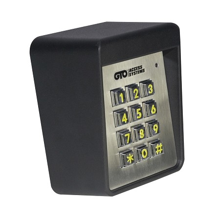 GTO Keypad F320 - GTO Heavy Duty Wired Keypad - Used on Residential & Commercial Gate System