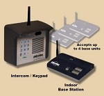 GTO F4100MBC (NEW F3100MBC) Estate Series Digital Keypad / Intercom System (Wireless Only) Kit