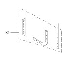Liftmaster K75-13074 Straight and Curved Door Arm Kit, Apt