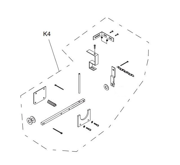 Liftmaster K75-30737 Disconnect Kit