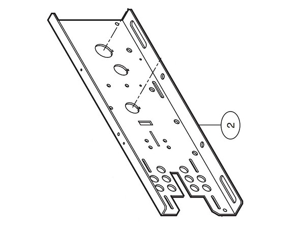 Liftmaster 10-10713M1 Frame, Right Hand