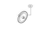 Liftmaster 17-10336 Pulley, 7