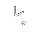 Liftmaster K10-10203 Curved Door Arm