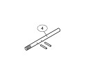 Liftmaster 11-10014 Clutch Shaft