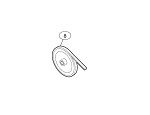 Liftmaster 17-10165 Pulley, 7