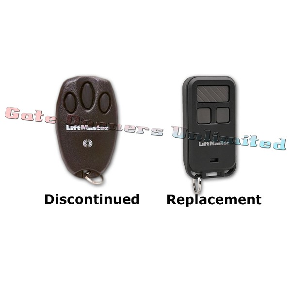 Liftmaster 970LM Security+ Mini 3-Button Remote Replaced by 890MAX 3-Button