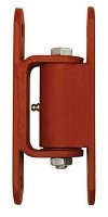 Guardian 2150.100  Standard Hinge - Bolt to Gate, Bolt to Post (Prime Coated) - Liftmaster 2150P  - Sold in Pairs
