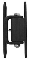 Guardian 2150.300  Standard Hinge - Bolt to Gate, Bolt to Post (Black Powder Coat) - Liftmaster 2150B - Sold in Pairs