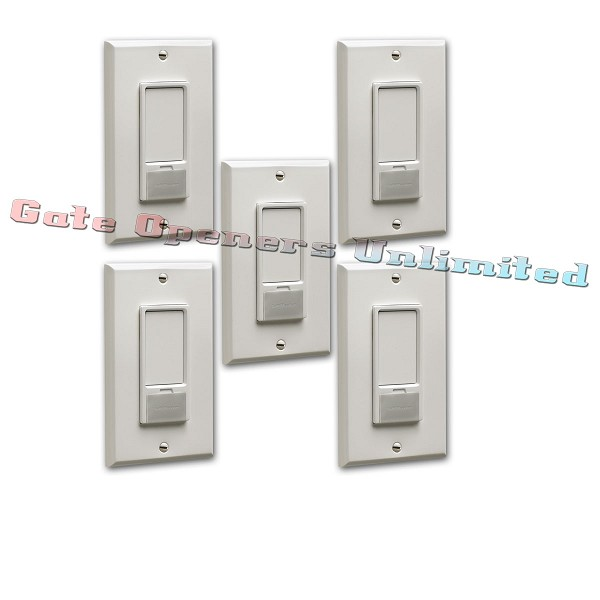 Liftmaster 823LM 4-Pack Remote Light Switch