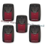 Liftmaster 375UT 5-Pack 2-Button Universal Remote Control