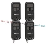 Liftmaster 890MAX 4-Pack 3-Button Mini Remote Control