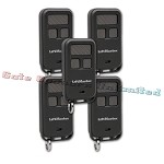 Liftmaster 890MAX 5-Pack 3-Button Mini Remote Control
