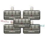 Liftmaster 894LT 5-Pack 4-Button Security+ 2.0 Learning Remote