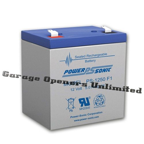 Liftmaster 41a6357 1 battery 12v for 12v garage door opener