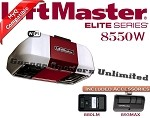 LiftMaster 8550W Elite Series DC Battery Backup Belt Drive Wi-Fi Garage Door Opener
