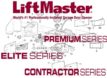 Liftmaster 41C5548 - Low voltage wire harness