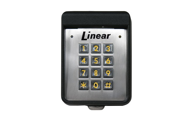 Linear AK-11, ACP00748 Stand Alone Exterior Surface-mount Digital Keypad