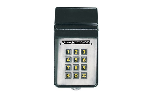 Linear AKR-1, ACP00747 Stand Alone Exterior Digital Keypad with Radio Receiver
