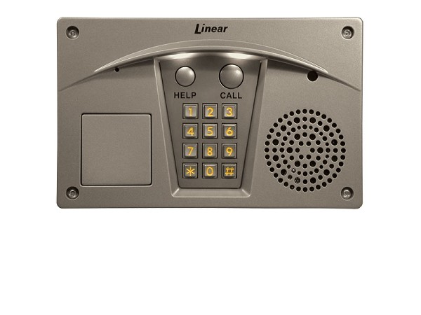 Linear RE-2N, ACP00910 Residential Telephone Entry Intercom System Nickel Finish