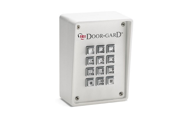 Linear 232R, 0-213466 Indoor / Outdoor Surface-mount Ruggedized Keypad 120 Users