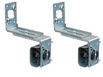 Linear HAE00056 30ft Photo Eye Receiver & Transmitter w/ Mounting Brackets UL325