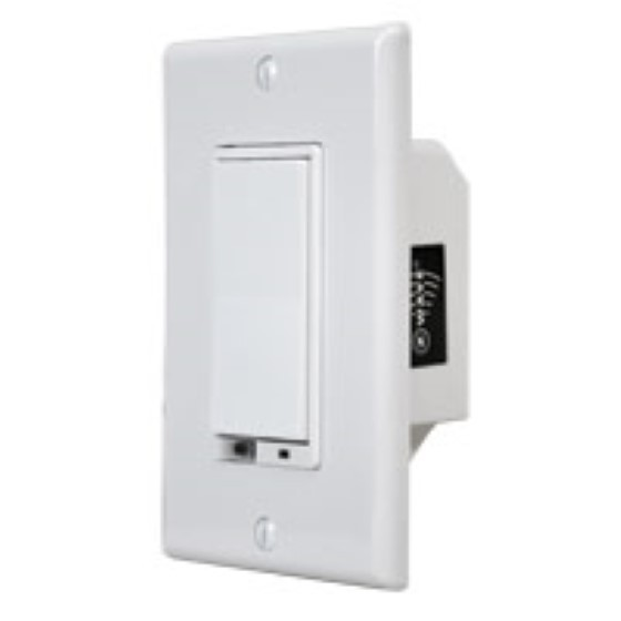 Linear WD1000Z-1 Z-Wave Wall Dimmer, 120 VAC, 1000W, 3-Way with Auto Sense