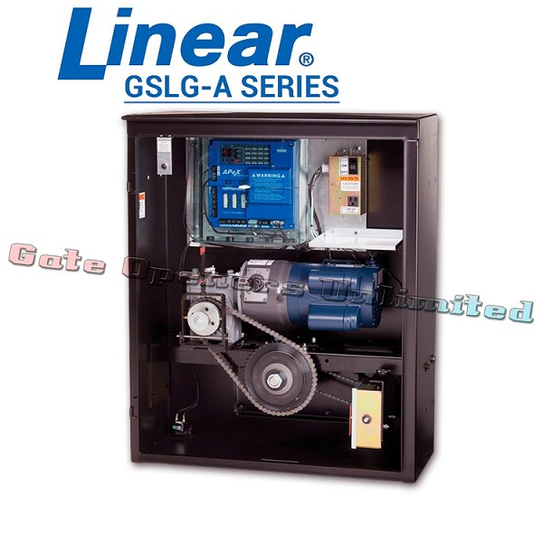 Linear Pro Access GSLG-A Series - Slide Gate Opener 115V Single Phase 1 HP 2200 lbs Industrial Slide Gate Operator