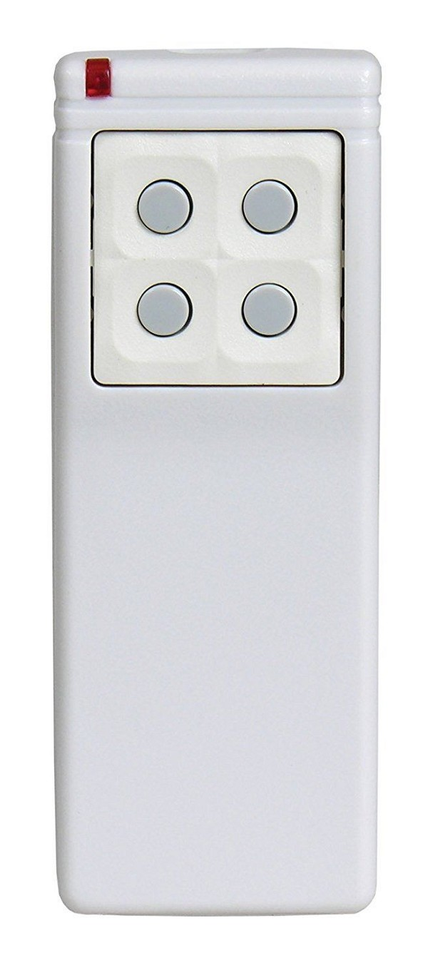 Linear SST00096, DXS-25 Supervised 5-Button, 8-Channel Handheld Transmitter, White