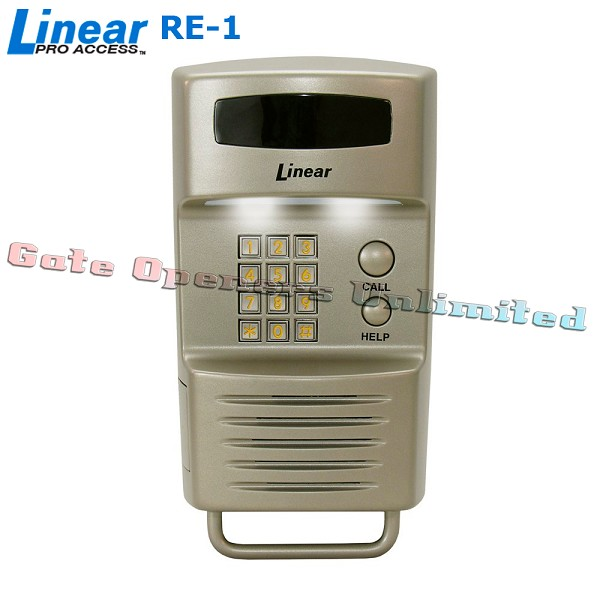 Linear ACP00892 RE-1N Residential Telephone Entry System