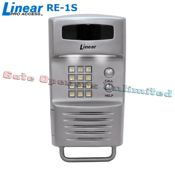 Linear ACP00896S RE-1S Residential Telephone Entry System