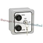 MMTC 2BXL Nema 4 Exterior Two Button With Lockout Surface Mount Control Station