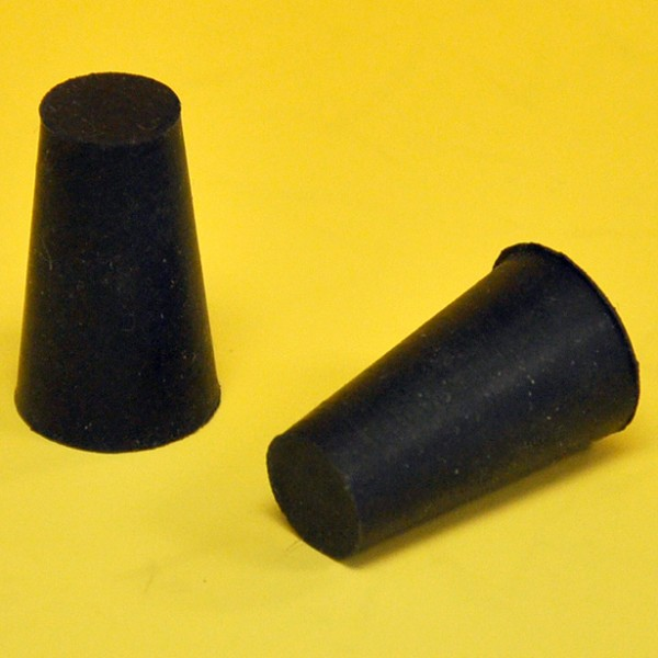 "Miller Edge P-75 Hard Rubber End Plug for 3/4"" ID Rubber Hose"