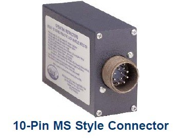 RENO B 10-Pin MS Style Connector, Single Channel Loop Detector, Vehicle Detection Device