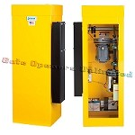 Linear Pro Access BGU Series - 1/2 HP 230V 1PH Barrier Parking Gate Operator (Yellow) - 10ft Arm Size
