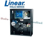 Linear Pro Access HSLG Series - Slide Gate Opener 230V Single Phase 1 HP 55ft Max Gate Length 1700 lbs Commercial or Industrial Slide Gate Operator